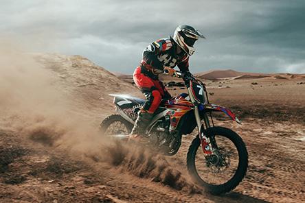 traceur moto cross GPS