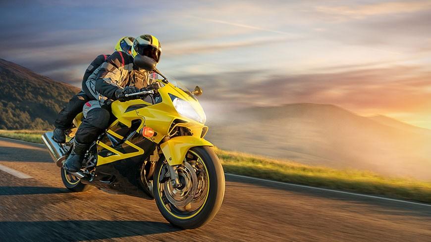 La moto en été // Sécurité